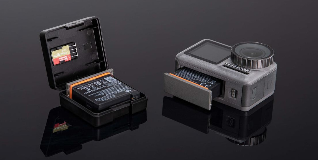 фото оригинального аккумулятора для экшн-камеры DJI Osmo Action