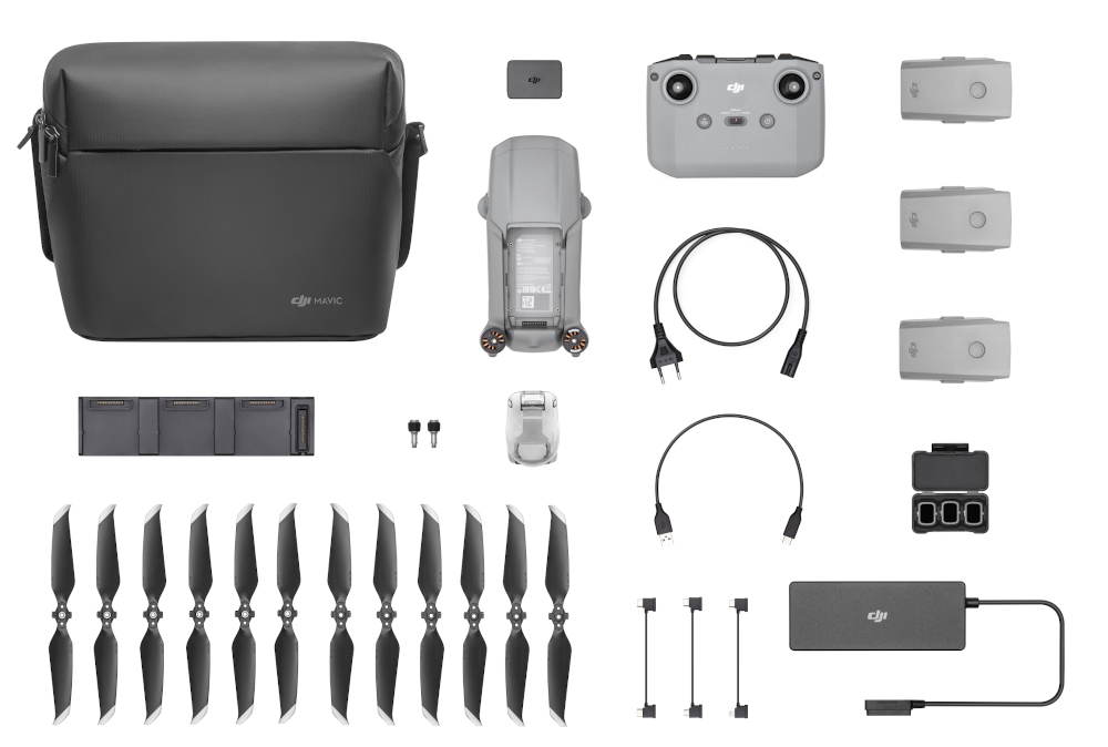 комплект поставки DJI Mavic Air 2
