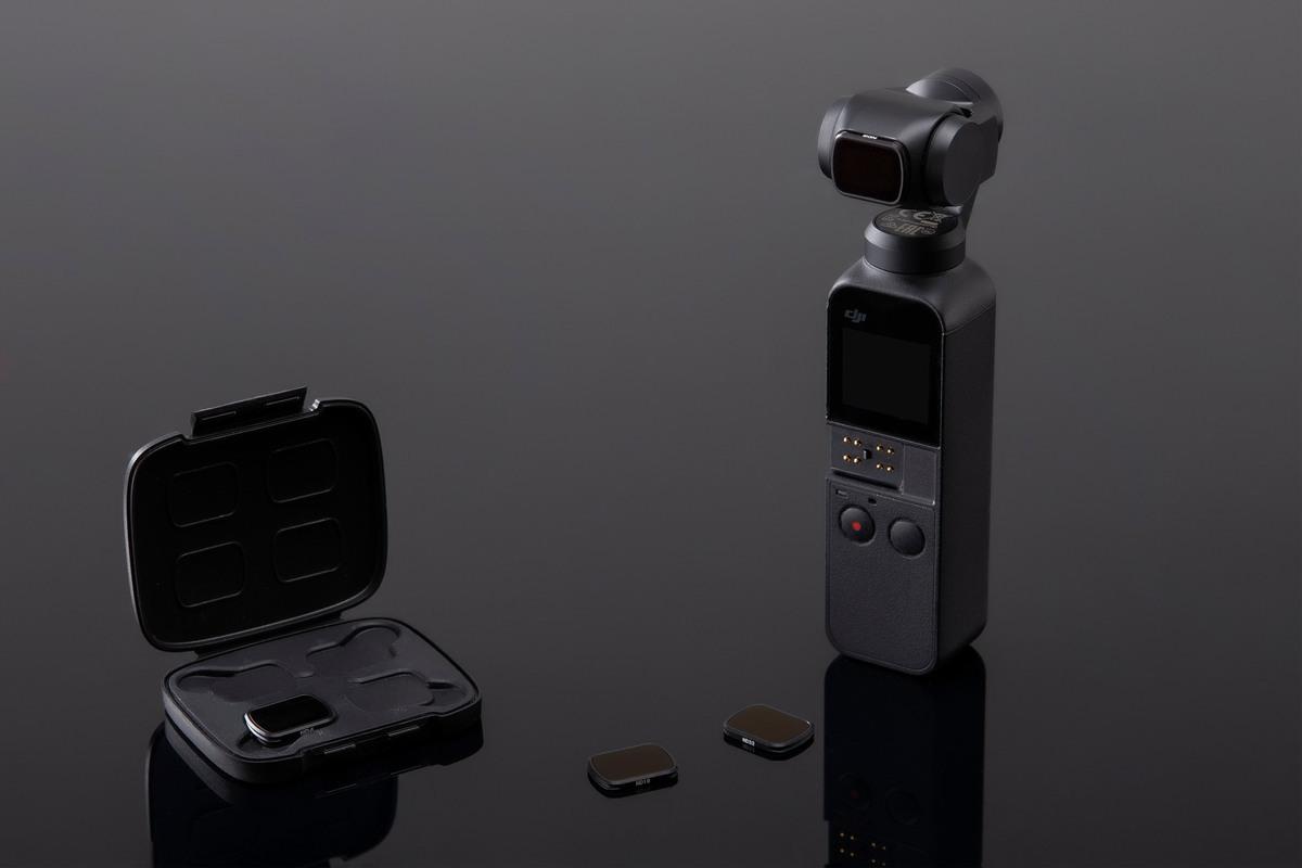фото ND фильтра для DJI OSMO Pocket
