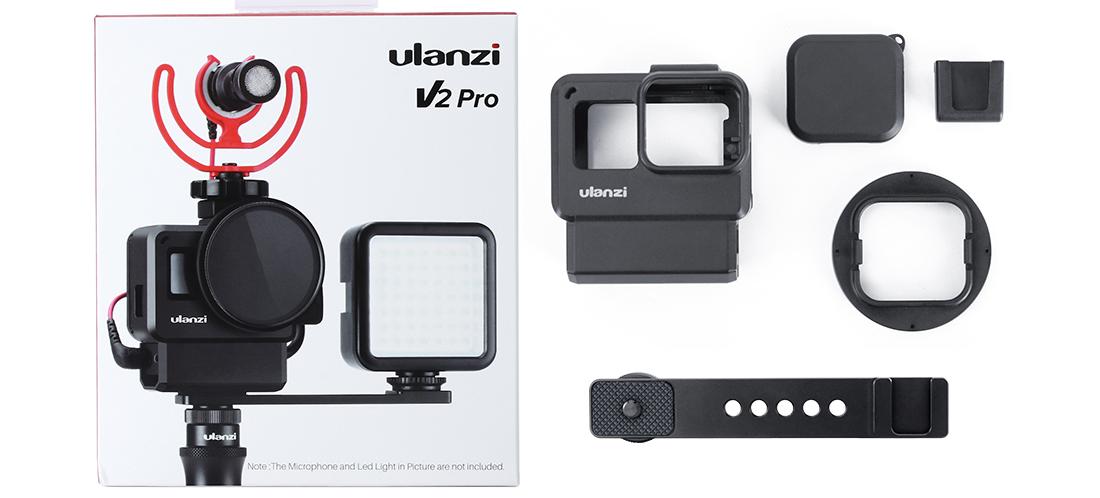 фото комплектации рамки для GoPro V2 Pro