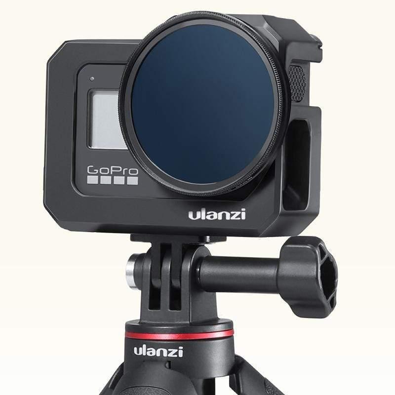 изображение влог рамки GoPro 8 с фильтром 52мм