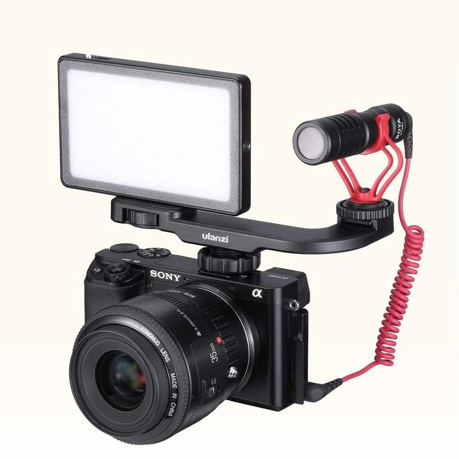 изображение адаптера на два оборудования в горячий башмак камеры