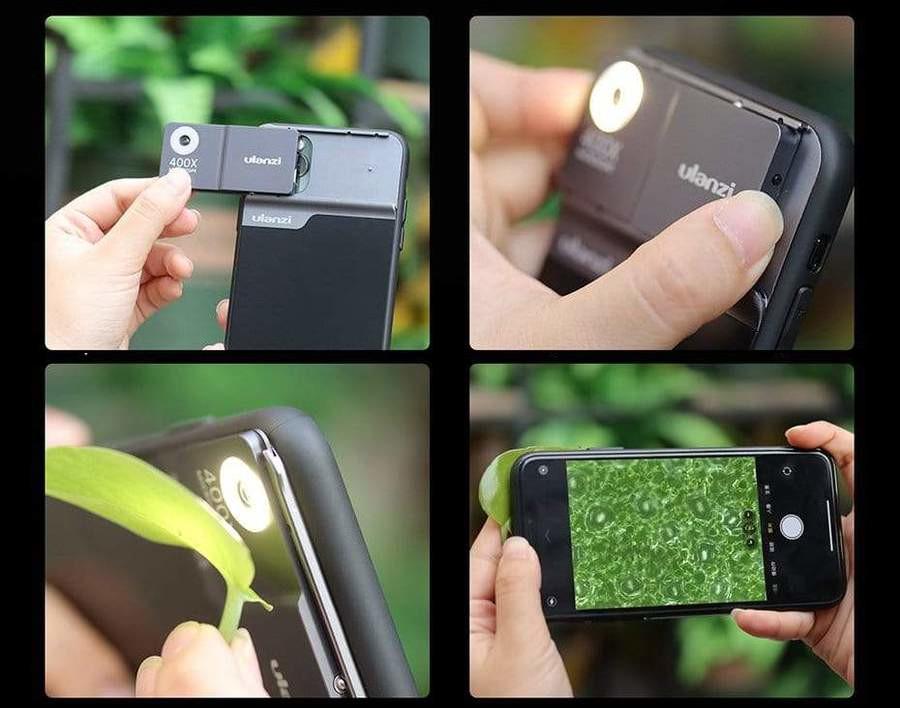фото чехла на iPhone 11 Pro / Max для микроскопа