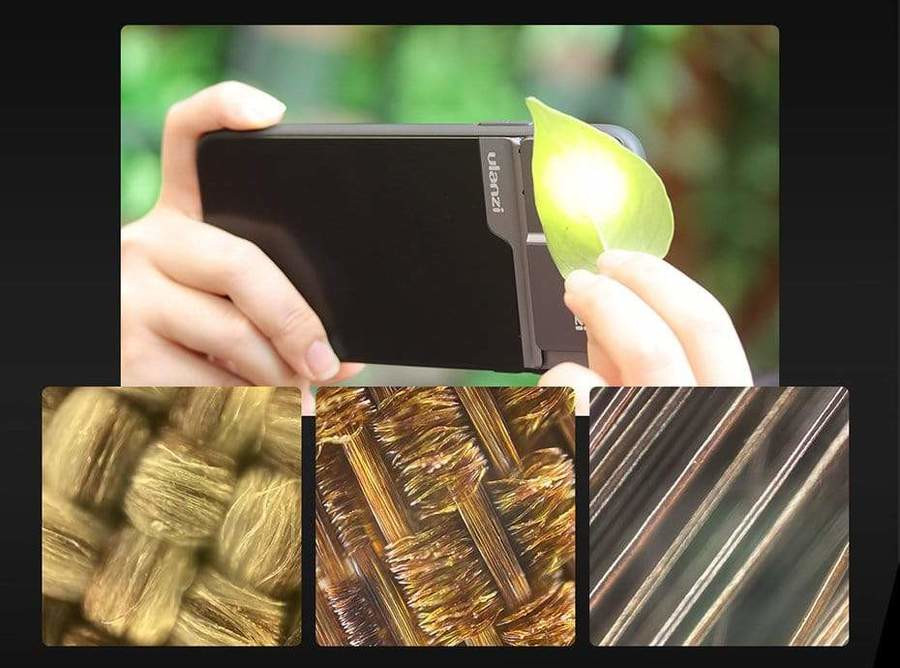 фото микроскопа для телефона iPhone 11 Pro