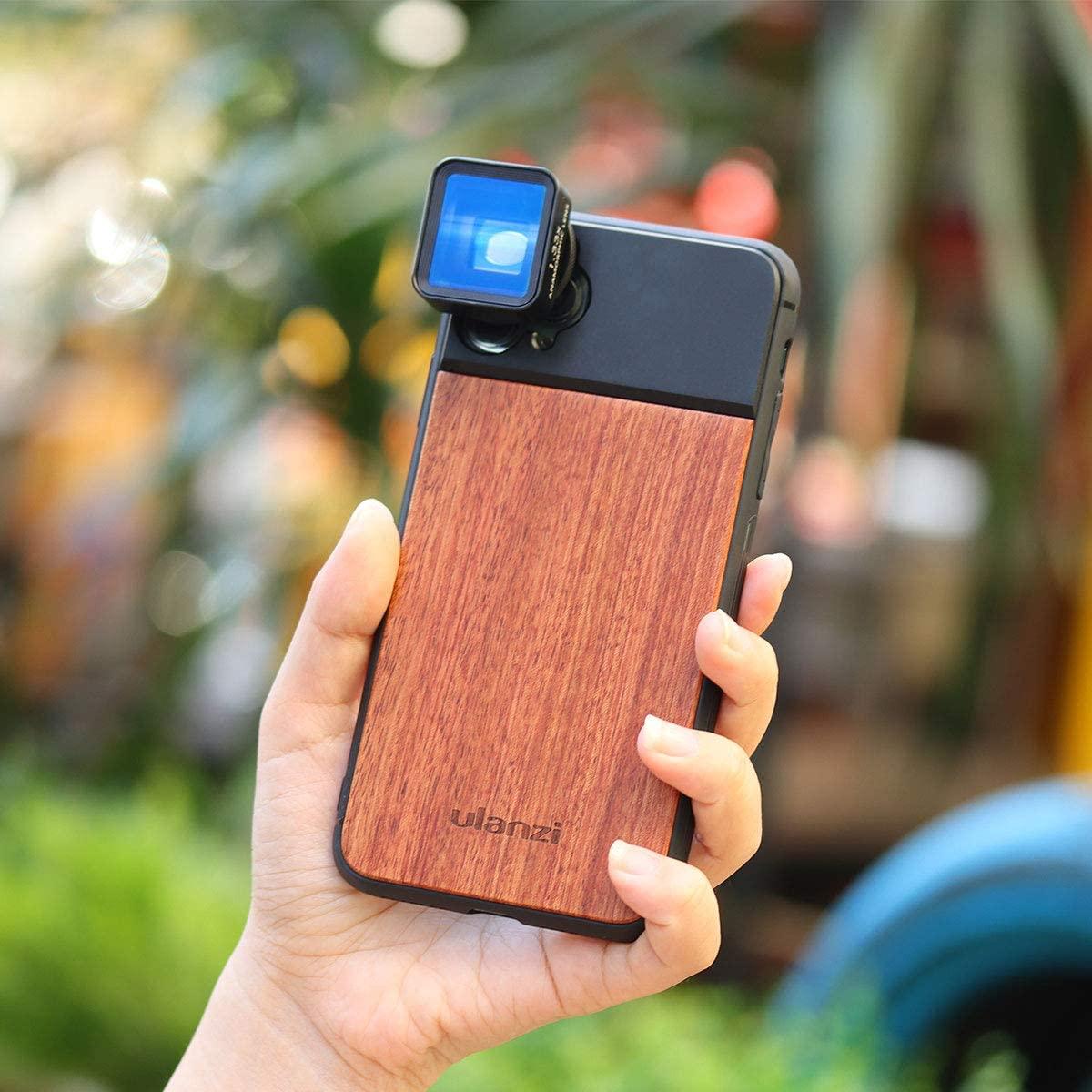 изображение Ulanzi Wood чехла для объектива на камеру iPhone 11 Pro Max