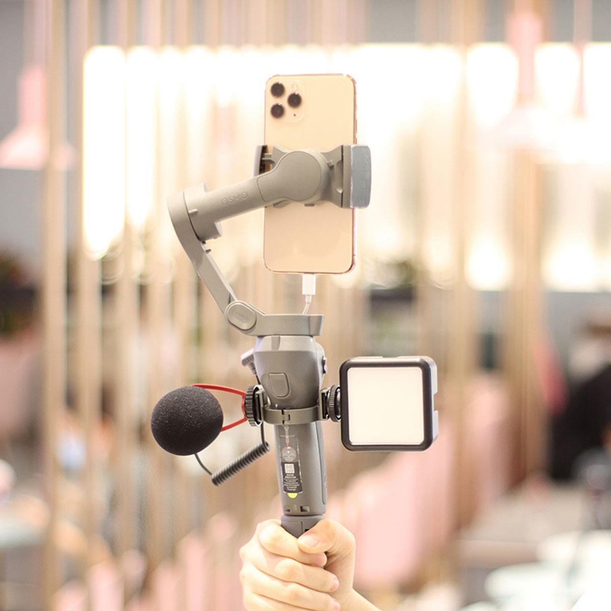изображение крепления для микрофона на OSMO Mobile 3