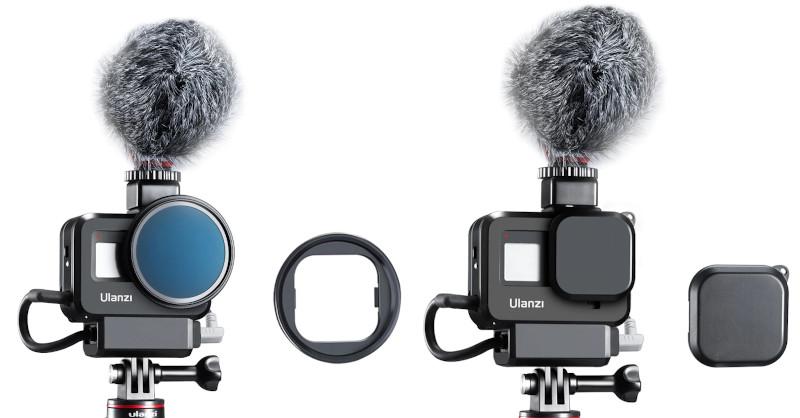 изображение крепления фильтра для GoPro 8
