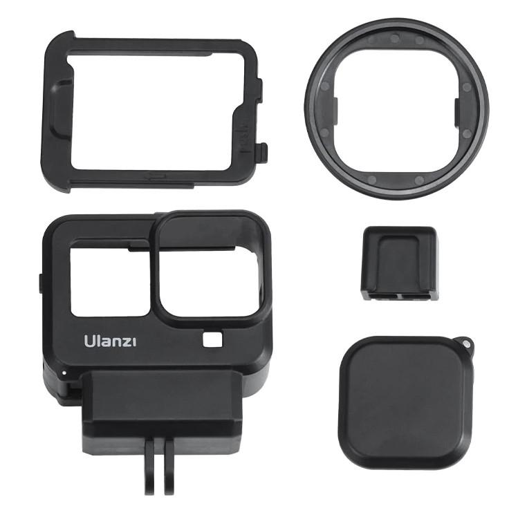 изображение комплектации рамки GoPro 8 Ulanzi G8-9