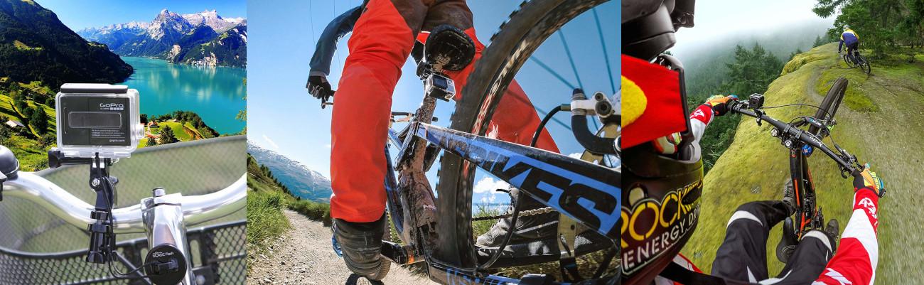 фото крепления на руль велосипеда