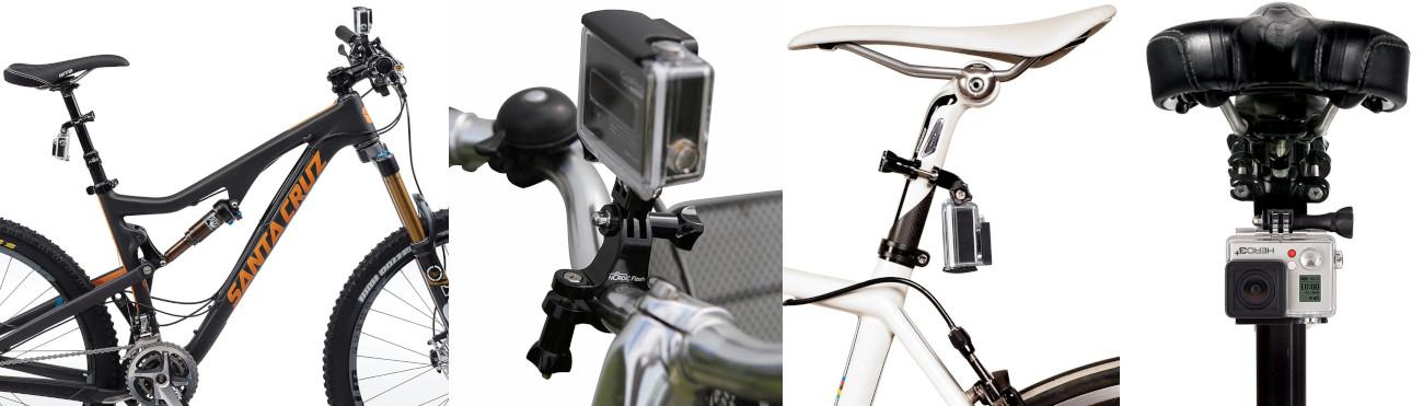 фото крепления на подсидел, руль велосипеда