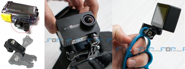 фото адаптер 1/4 дюйма на крепление GoPro