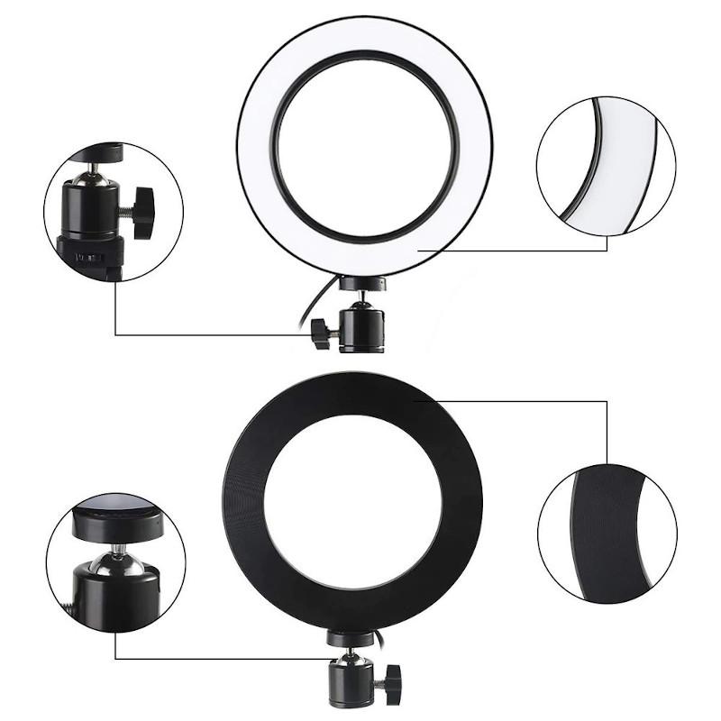 фото регулировки положения светодиодного кольца