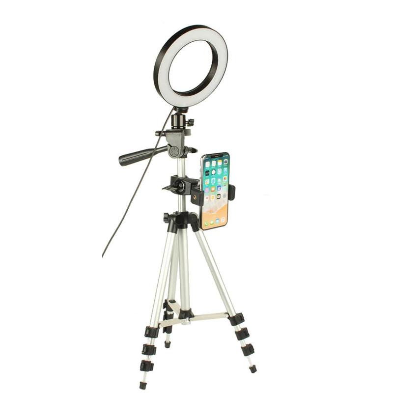 фото держателя для телефона с набора светодиодная лампа со штативом