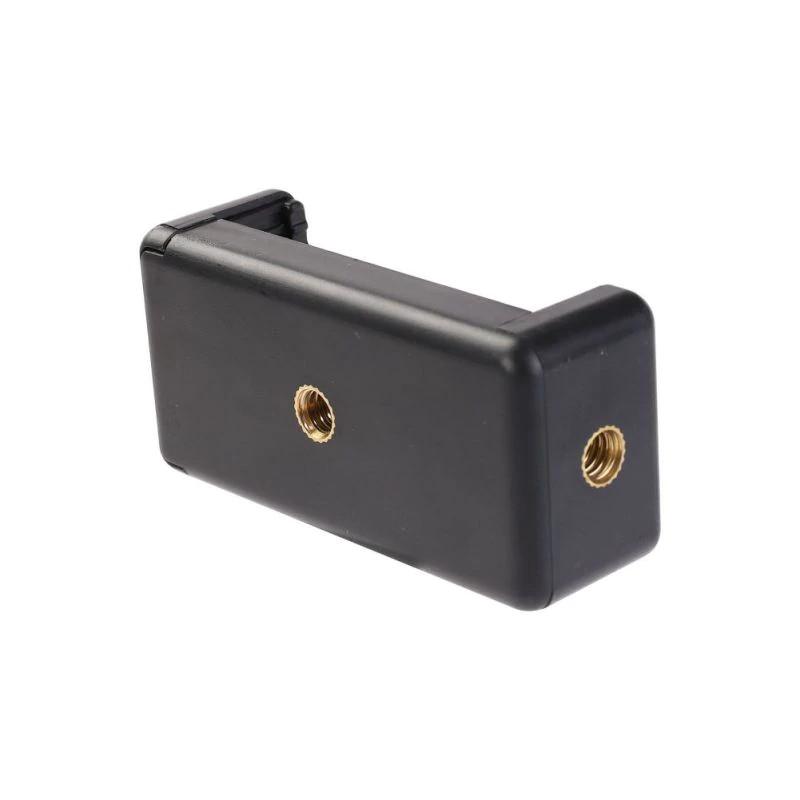 фото двух отверстий с резьбой 1/4 дюйма на держателе для телефона