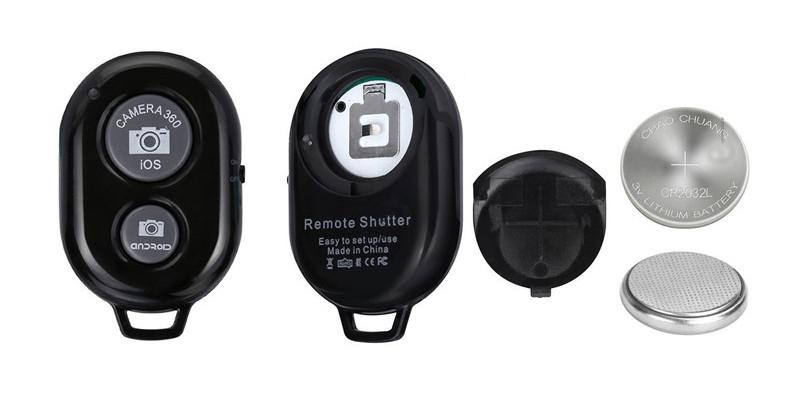 изображение батарейки bluetooth пульта из набора блогера 4 в 1 для телефона