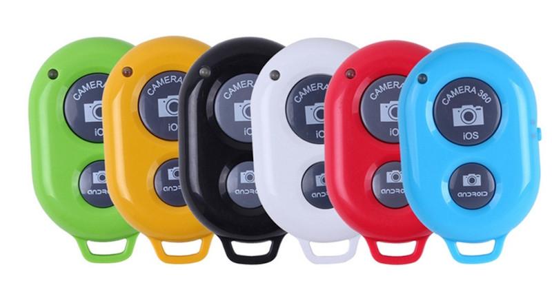 изображение выбора цвета bluetooth пульта из набора блогера 4 в 1 для телефона