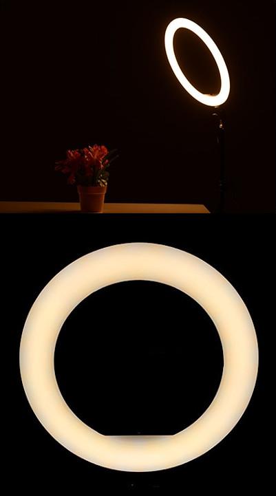 изображение смешанного света на световом кольце для телефона
