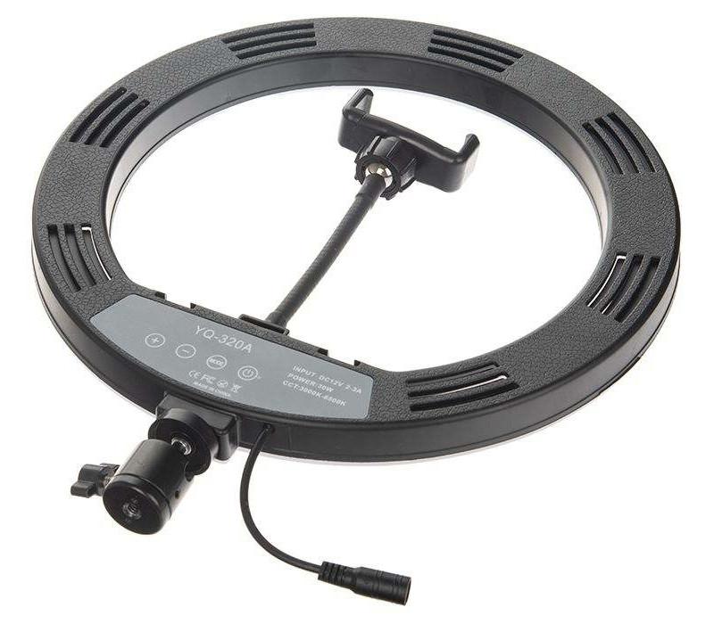фото светового кольца с тремя креплениями холодный башмак