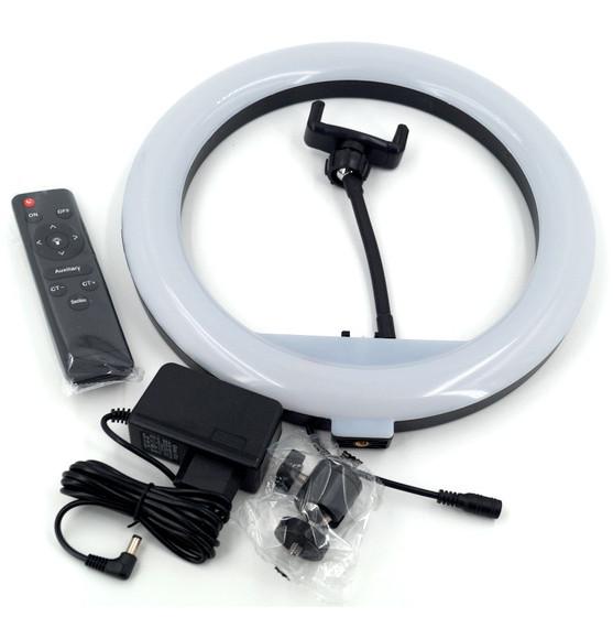 фото комплектации световой лампы для телефона