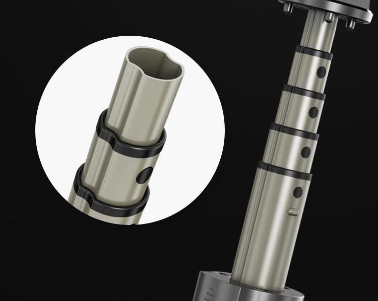 фото алюминиевой телескопической регулировки кольцевой селфи палки