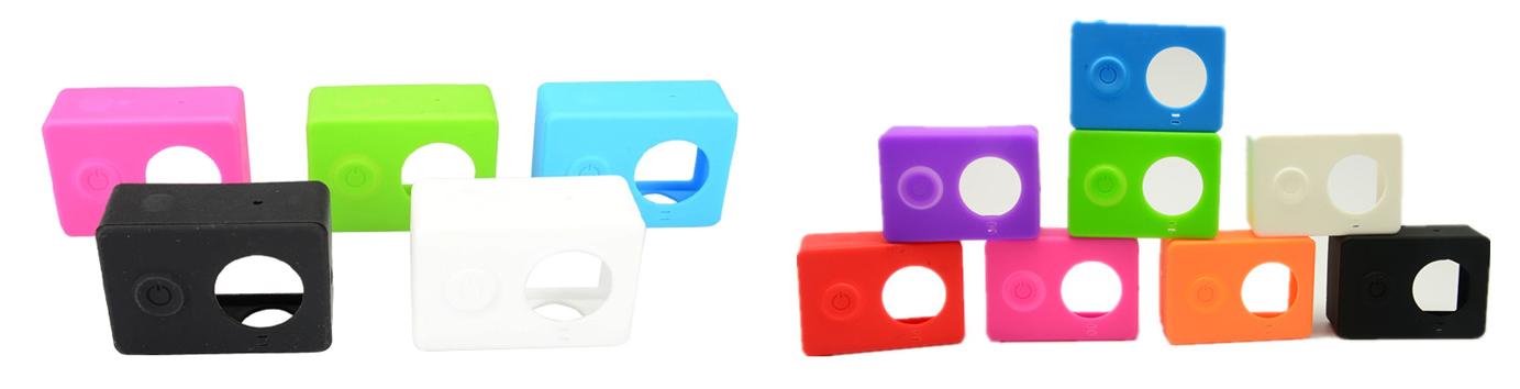 фото цвета силиконовых чехлов Xiaomi Yi