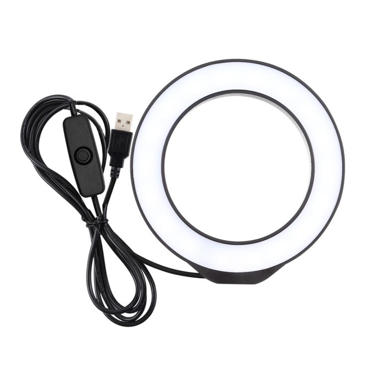 изображение LED лампы из набора кольцевая лампа на гибком штативе