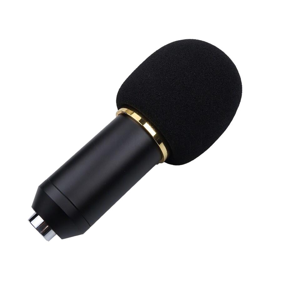 фото поролоновой ветрозащиты микрофона BM 800