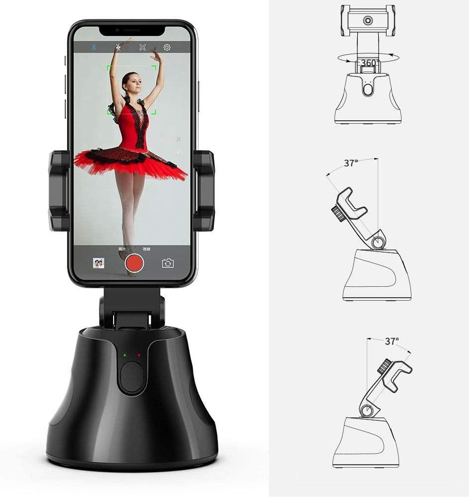 фото регулировок держателя для телефона с функцией слежения за объектом