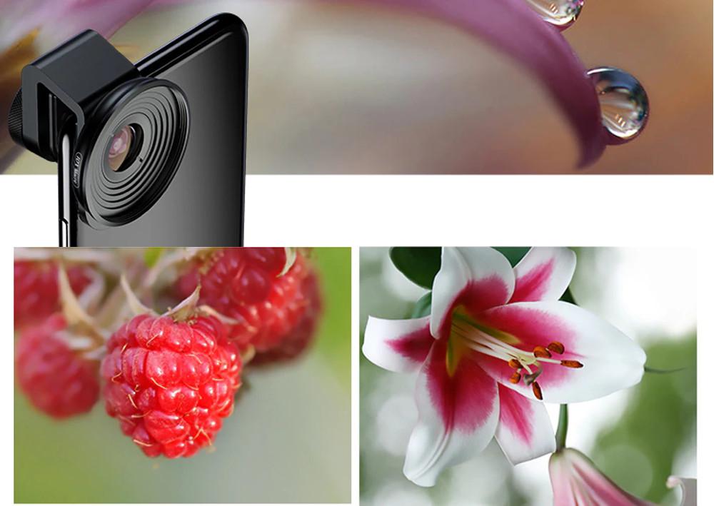 изображение макрообъектива для телефона