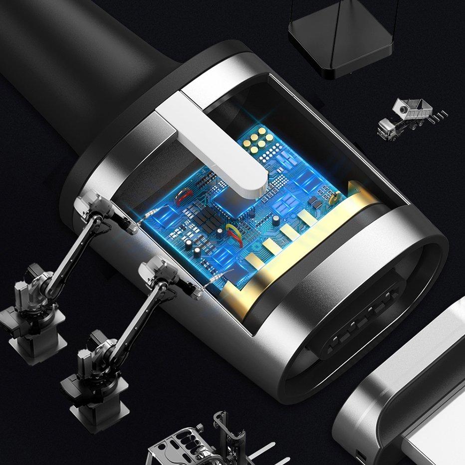 фото встроенной защиты магнитного кабеля для Apple Baseus CALXC-B01