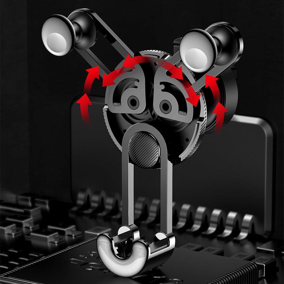 фото механизма держателя для телефона Baseus SUTYY-01