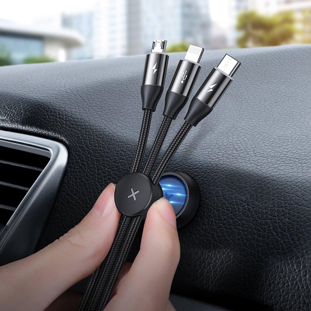 фото магнитного держателя кабеля