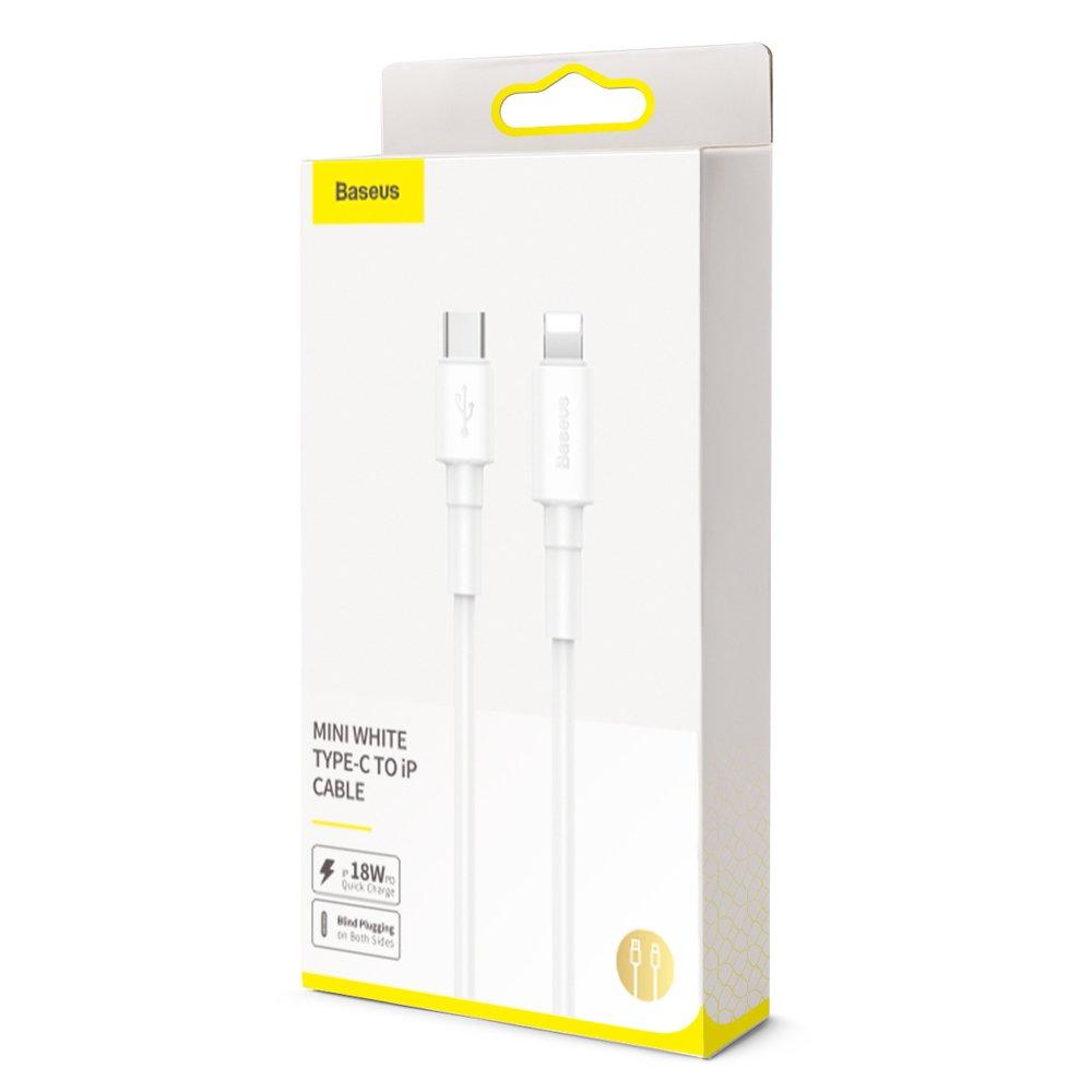 фото комплекта поставки кабеля Type-C iP Baseus CATLSW-02