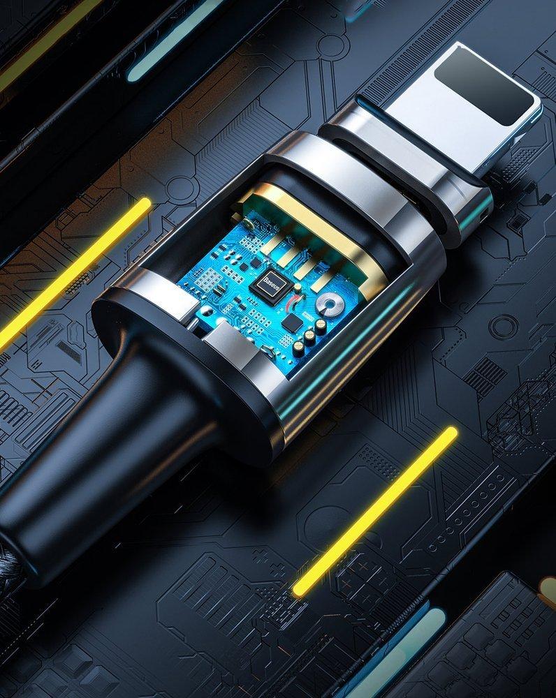 изображение микроконтроллера безопасной зарядки магнитного кабеля