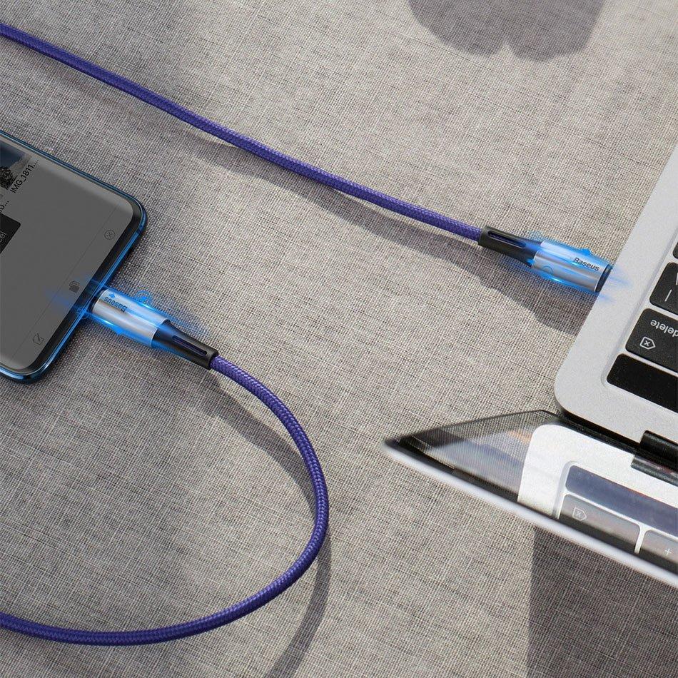 фото кабеля высокой мощности для зарядки ноутбука Baseus CATSD-K01