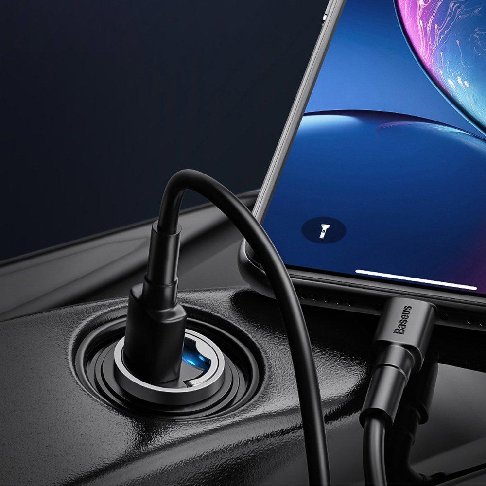 фото зарядки для Apple в автомобиль Baseus TZVCHX-0G