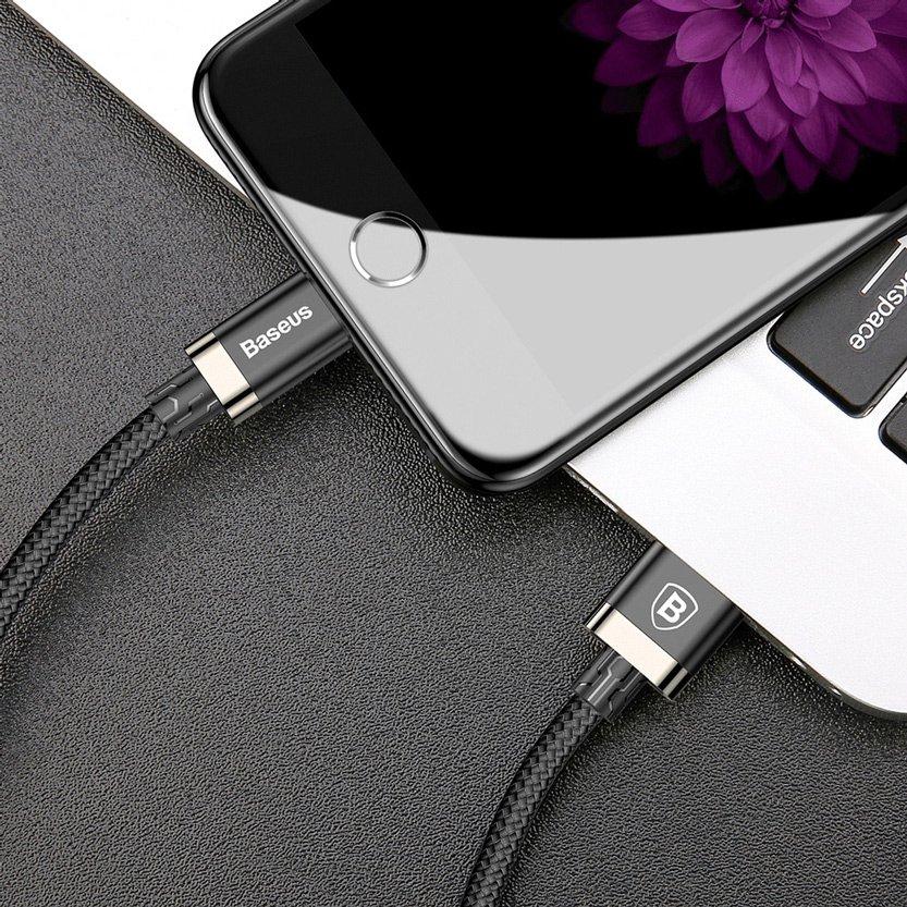 изображение кабеля USB / Lightning Baseus CALGB-1V