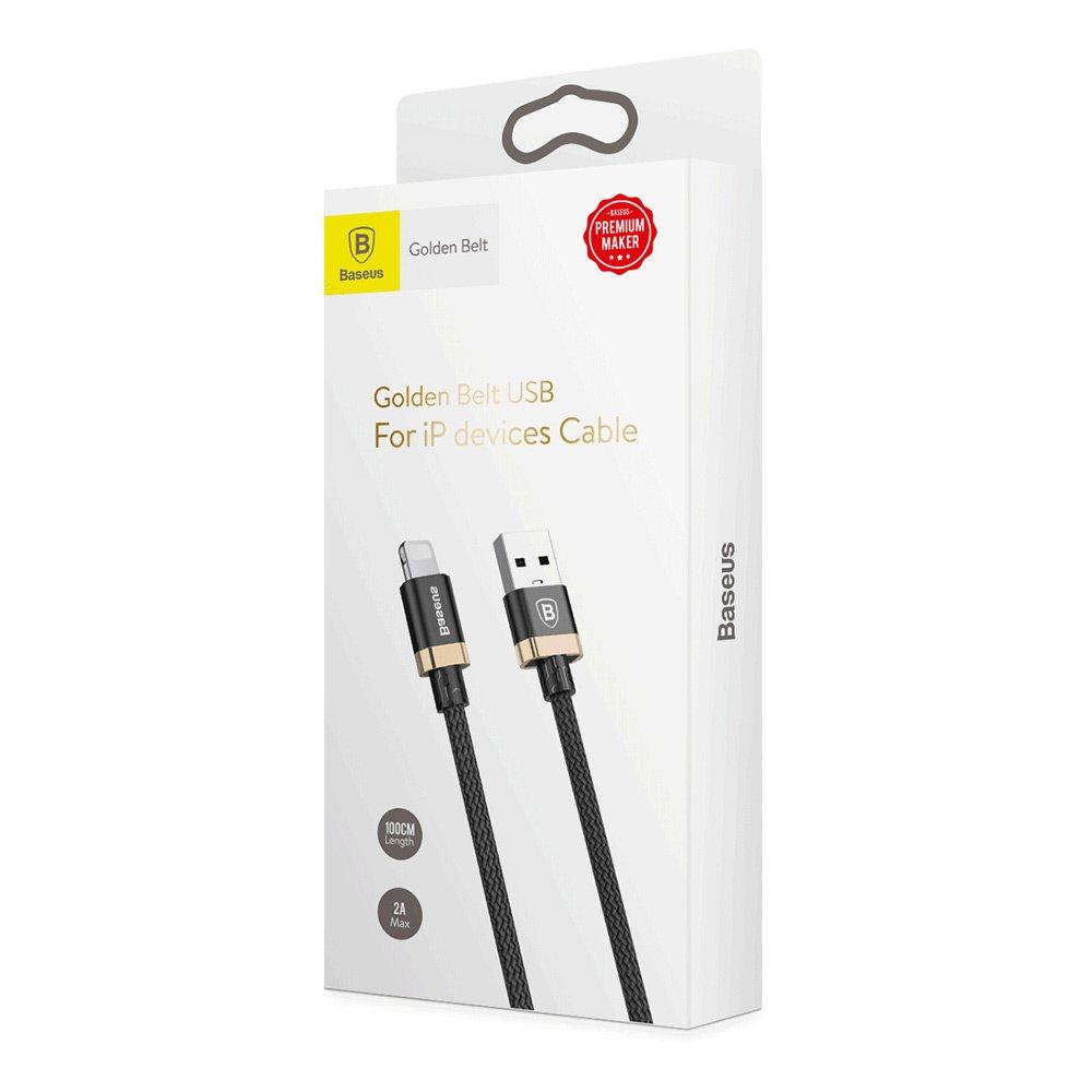 фото комплекта поставки USB / Lightning кабеля Baseus CALGB-1V