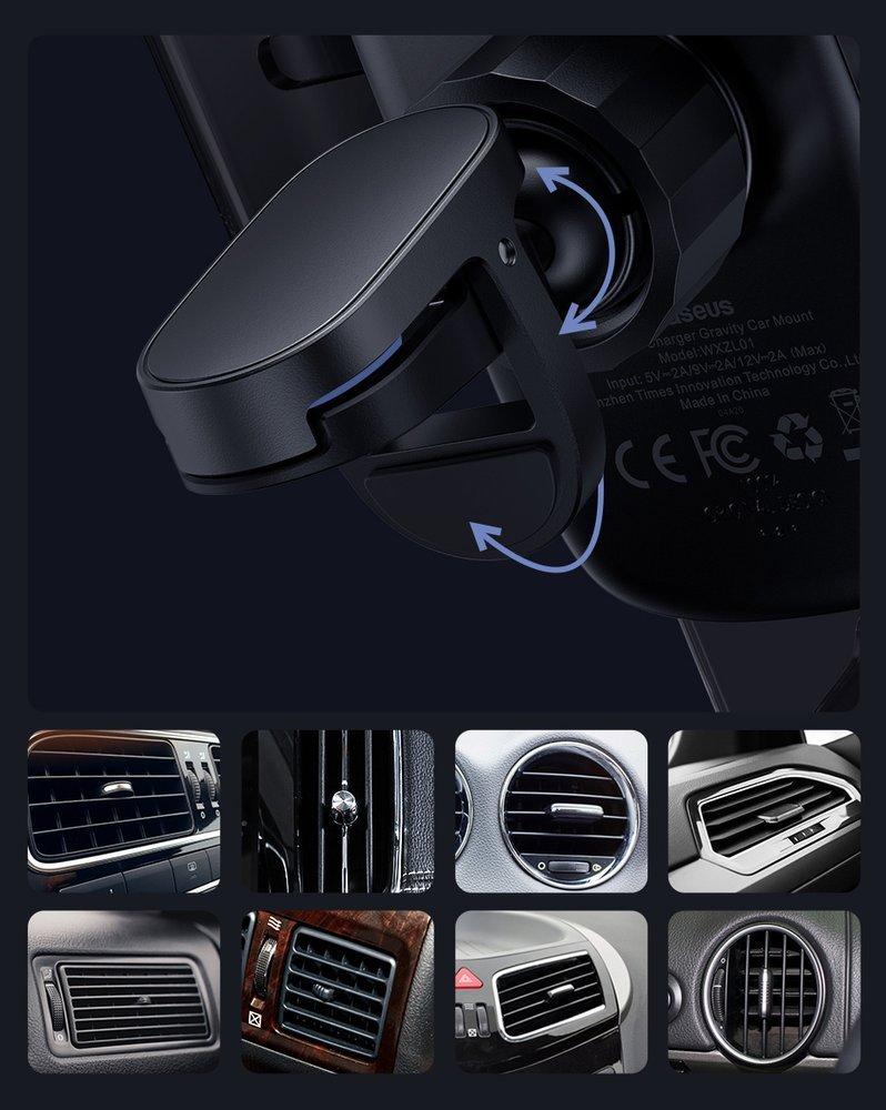фото держателя для телефона в авто с зарядкой