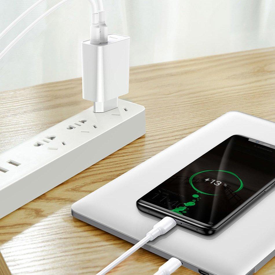 изображение интеллектуального зарядного устройства для смартфона Baseus TZCAFS-A02