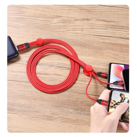 изображение Baseus Car Co-sharing Cable USB CAMLT-FX09