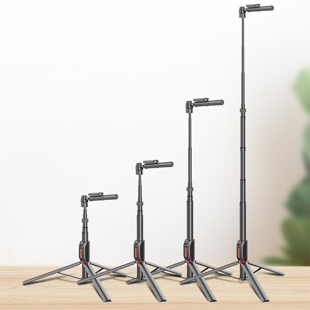 изображение высоты штатива для трех телефонов