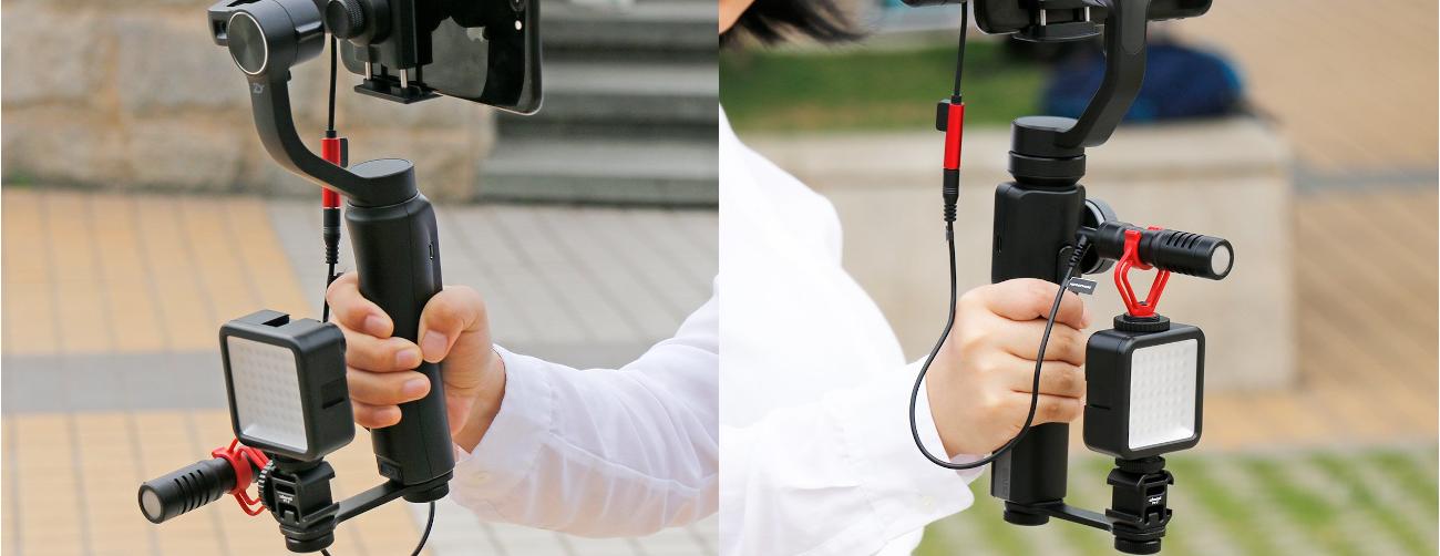 фото кронштейнів для стабілізатора телефону