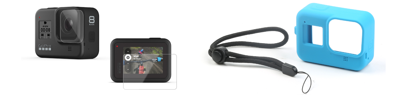 фото защитное стекло GoPro 8