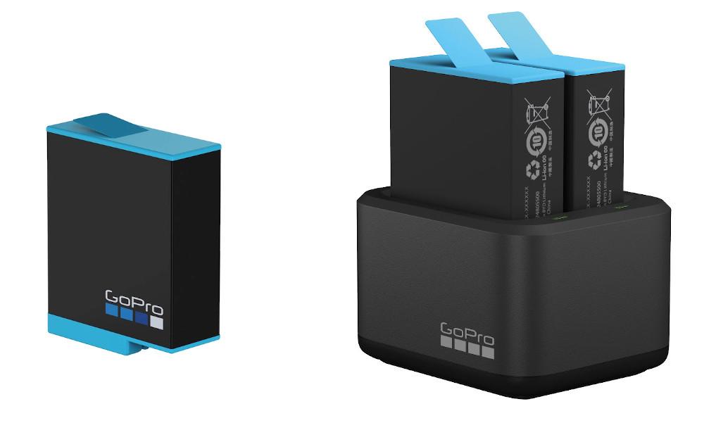 изображение аккумулятора и зарядного устройства GoPro 9