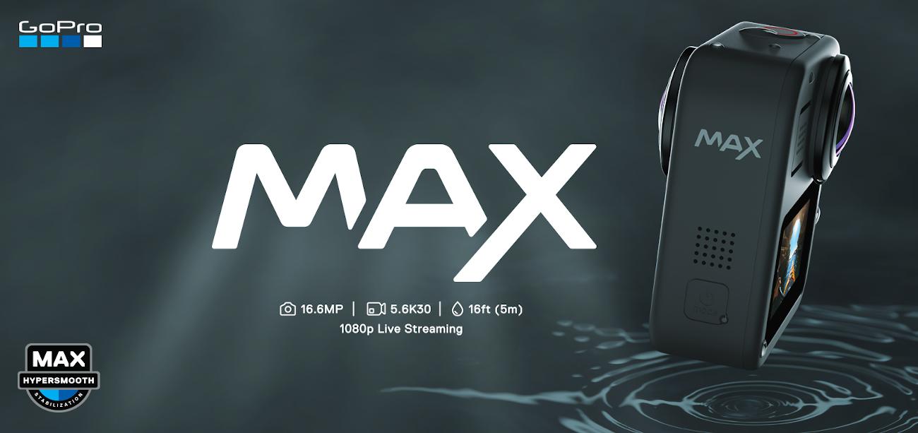фото водонепроницаемая GoPro Max