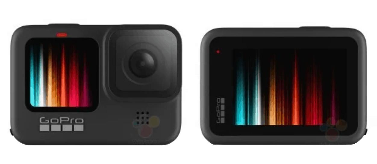 фото двух цветных дисплеев GoPro Hero 9