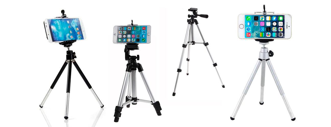 фото телескопічних штативів для телефону