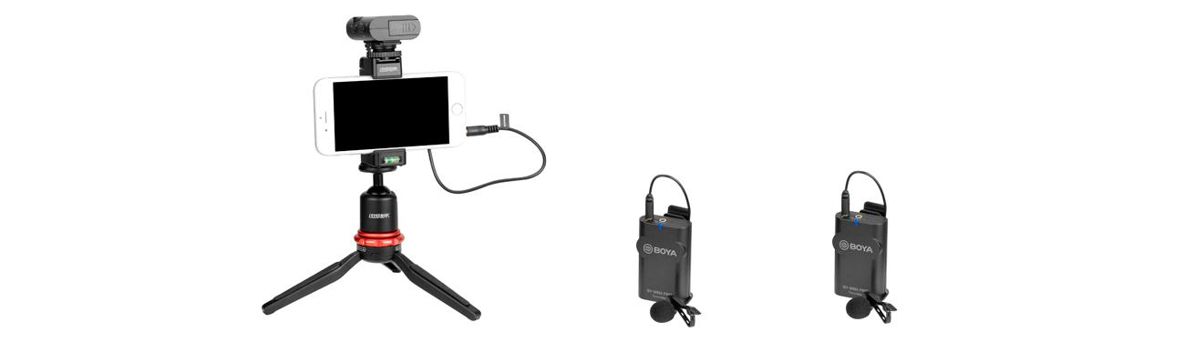 фото цифрового беспроводного микрофона BOYA BY-WM4 Pro
