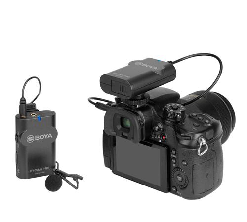 фото BY-WM4 Pro-K1 беспроводного микрофона для камеры